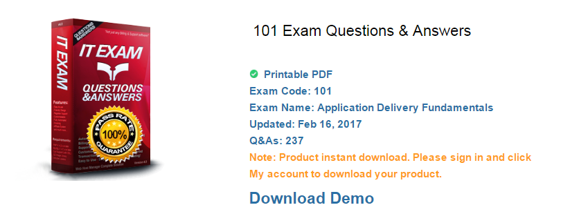 101 exam